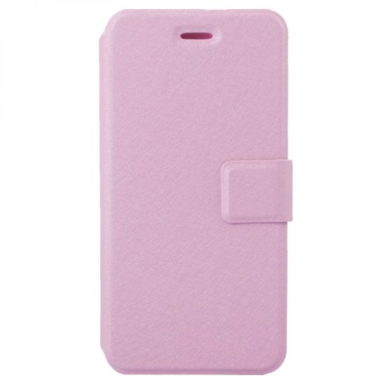 Mobigear Silk  Bookcase voor de iPhone 6(s) - Roze