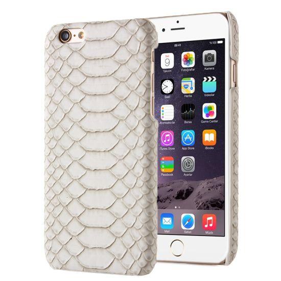 Mobigear Snake Hardcase voor de iPhone SE (2016) / 5S / 5 - Bruin