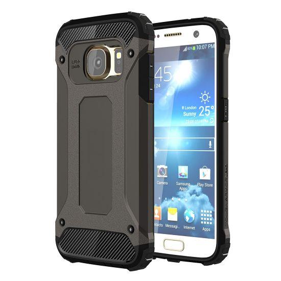 Mobigear Outdoor Hardcase voor de Samsung Galaxy S7 - Zwart