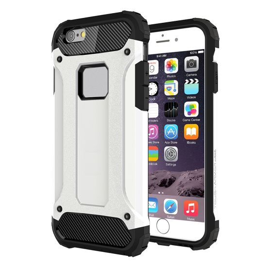 Mobigear Outdoor Hardcase voor de iPhone 6(s) - Wit