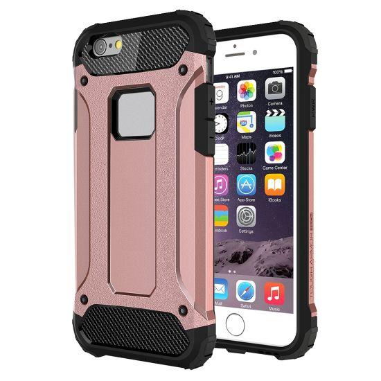 Mobigear Outdoor Hardcase voor de iPhone 6(s) - Roségoud