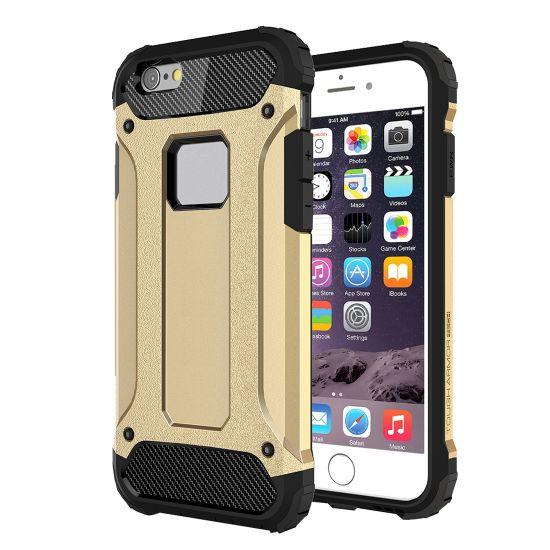 Mobigear Outdoor Hardcase voor de iPhone 6(s) - Goud