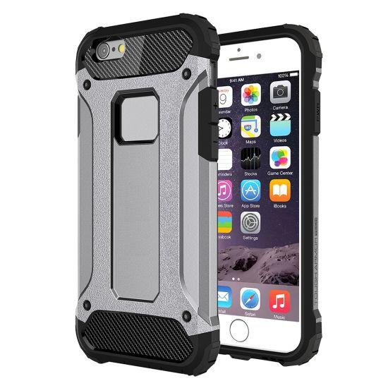 Mobigear Outdoor Hardcase voor de iPhone 6(s) - Grijs