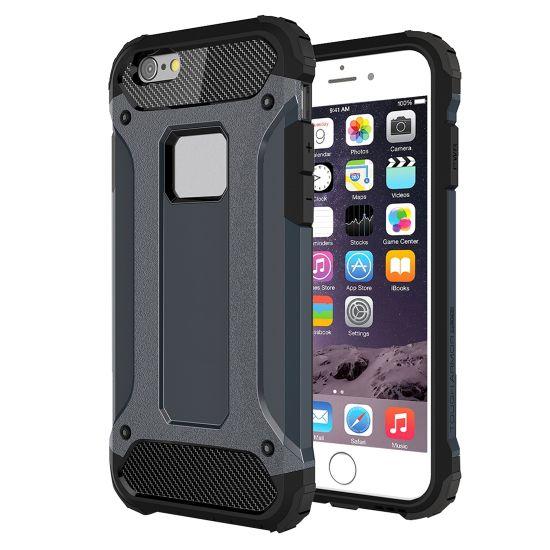 Mobigear Outdoor Hardcase voor de iPhone 6(s) - Donkerblauw
