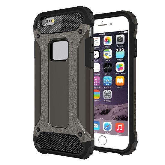 Mobigear Outdoor Hardcase voor de iPhone 6(s) - Zwart