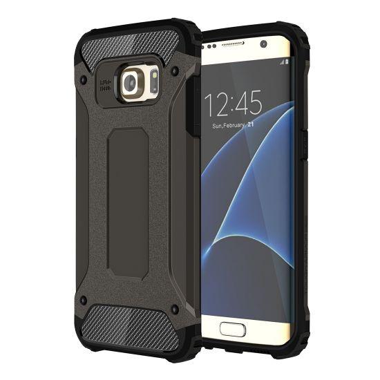 Mobigear Outdoor Hardcase voor de Samsung Galaxy S7 Edge - Zwart