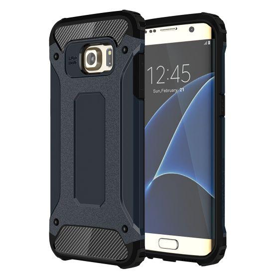 Mobigear Outdoor Hardcase voor de Samsung Galaxy S7 Edge - Donkerblauw