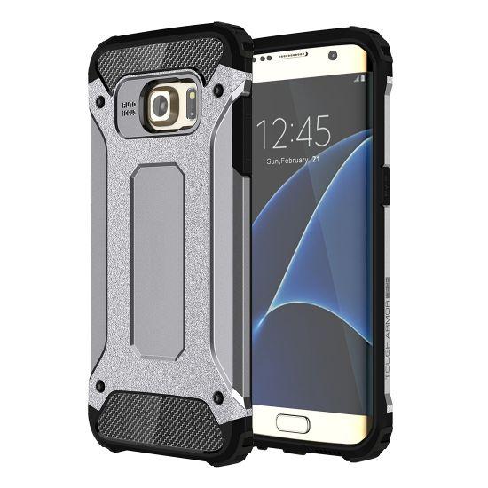 Mobigear Outdoor Hardcase voor de Samsung Galaxy S7 Edge - Grijs