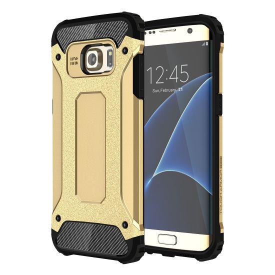 Mobigear Outdoor Hardcase voor de Samsung Galaxy S7 Edge - Goud