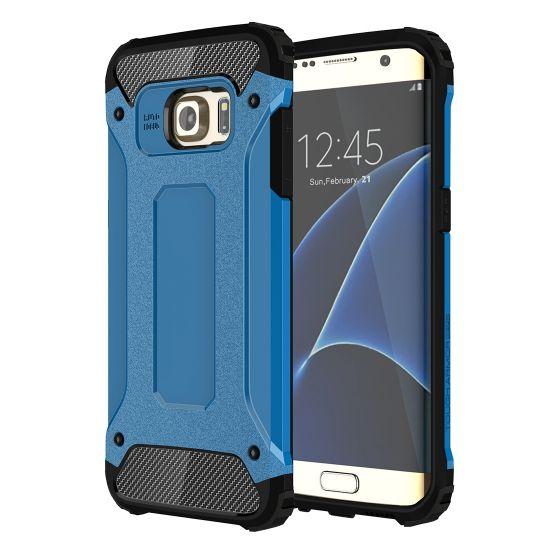 Mobigear Outdoor Hardcase voor de Samsung Galaxy S7 Edge - Blauw