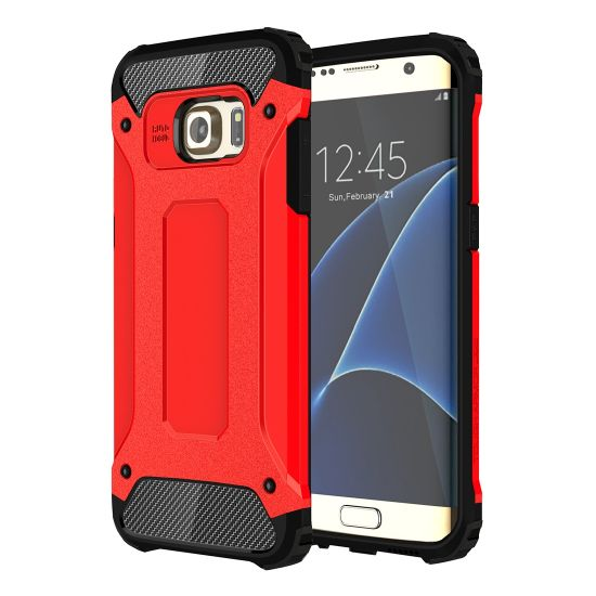 Mobigear Outdoor Hardcase voor de Samsung Galaxy S7 Edge - Rood