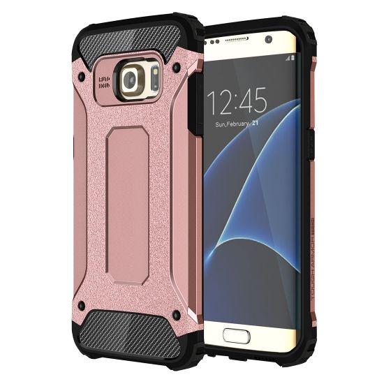 Mobigear Outdoor Hardcase voor de Samsung Galaxy S7 Edge - Roségoud