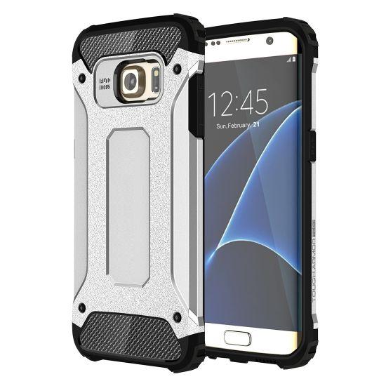 Mobigear Outdoor Hardcase voor de Samsung Galaxy S7 Edge - Zilver