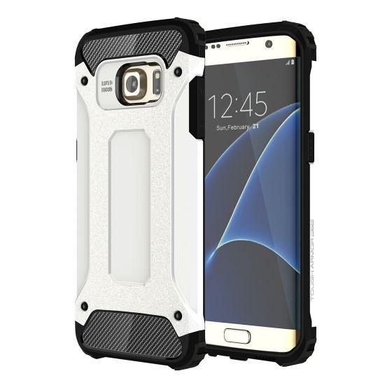 Mobigear Outdoor Hardcase voor de Samsung Galaxy S7 Edge - Wit