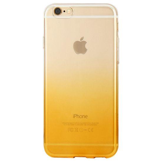 Haweel Gradient TPU Backcover voor de iPhone 6(s) Plus - Oranje