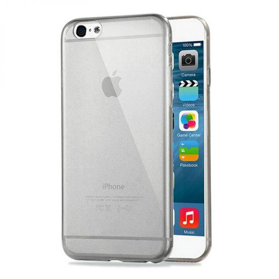 Haweel Zero TPU Backcover voor de iPhone 6(s) - Zwart