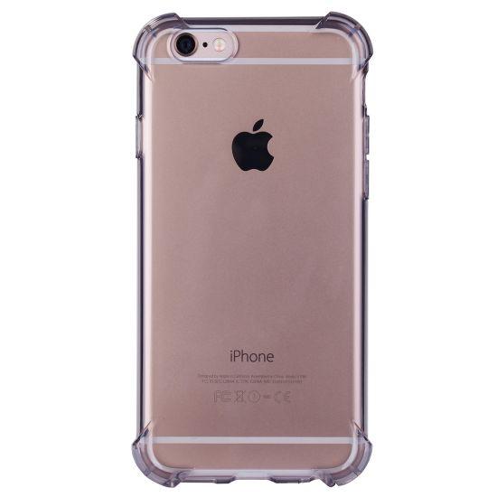 Mobigear Cushion TPU Backcover voor de iPhone 6(s) - Zwart