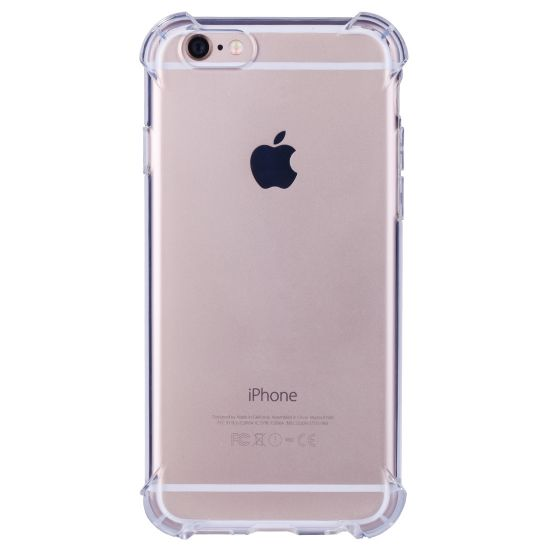 Mobigear Cushion TPU Backcover voor de iPhone 6(s) - Transparant