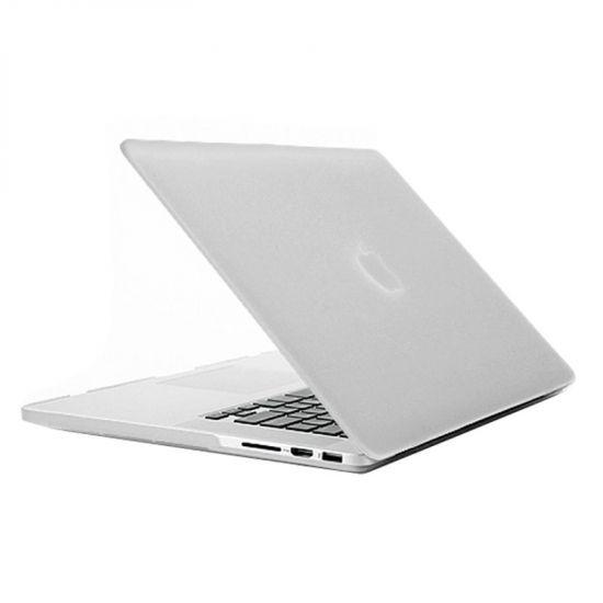 Mobigear Matte Case voor de MacBook Pro 15 inch - Transparant