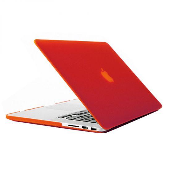 Mobigear Matte Case voor de MacBook Pro 15 inch A1398 - Rood