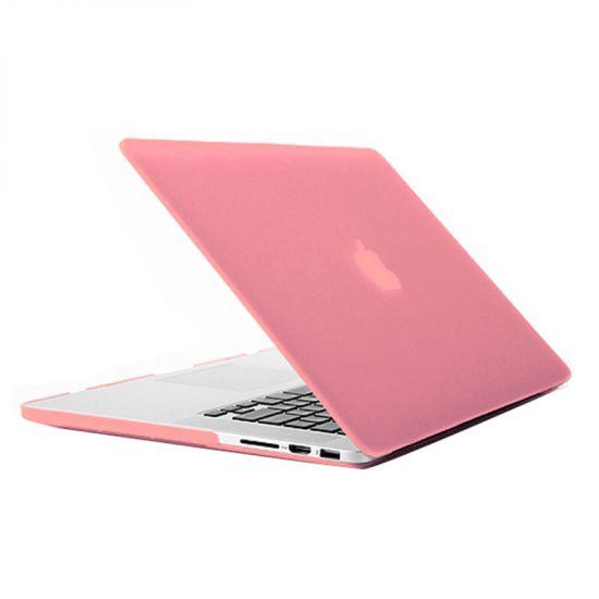Mobigear Matte Case voor de MacBook Pro 15 inch - Roze