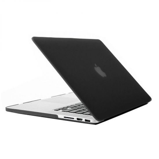 Mobigear Matte Case voor de MacBook Pro 15 inch A1398 - Zwart