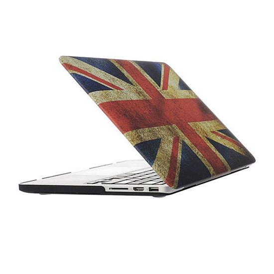 Mobigear Design Case voor de MacBook Pro 13 inch - Vintage Britse vlag