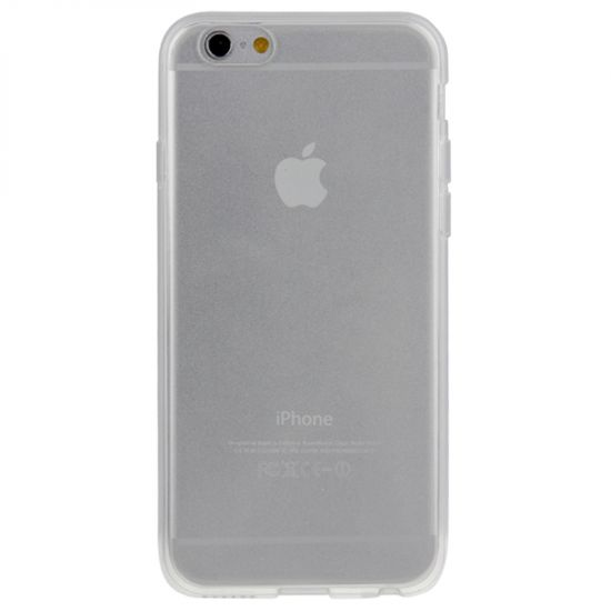 Mobigear Clear TPU Backcover voor de iPhone 6(s) - Transparant