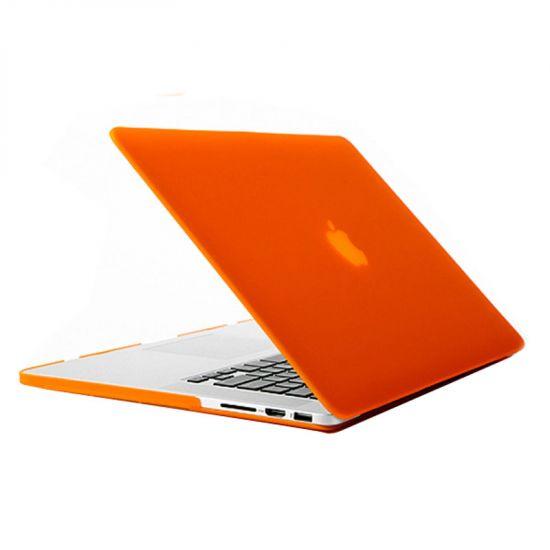 Mobigear Matte Case voor de MacBook Pro 13 inch - Oranje