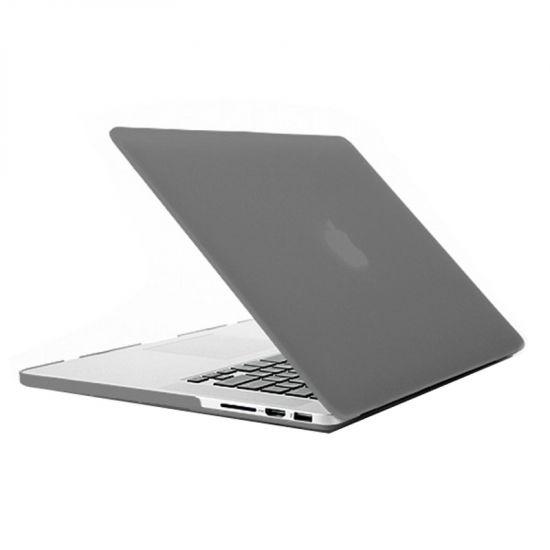 Mobigear Matte Case voor de MacBook Pro 13 inch - Grijs