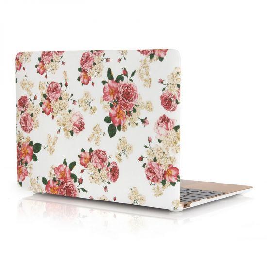 Mobigear Design Case voor de MacBook 12 inch - Chinese Roos