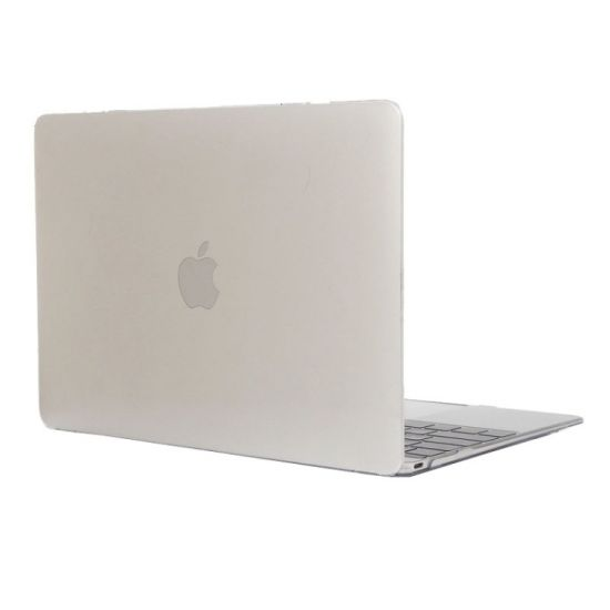 Mobigear Glossy Case voor de MacBook 12 inch - Transparant
