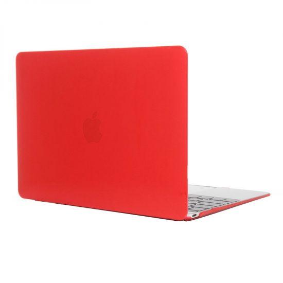 Mobigear Glossy Case voor de MacBook 12 inch - Rood