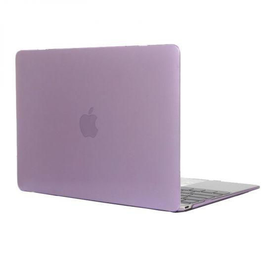 Mobigear Glossy Case voor de MacBook 12 inch - Paars