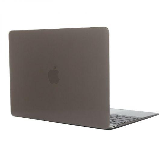 Mobigear Glossy Case voor de MacBook 12 inch - Grijs