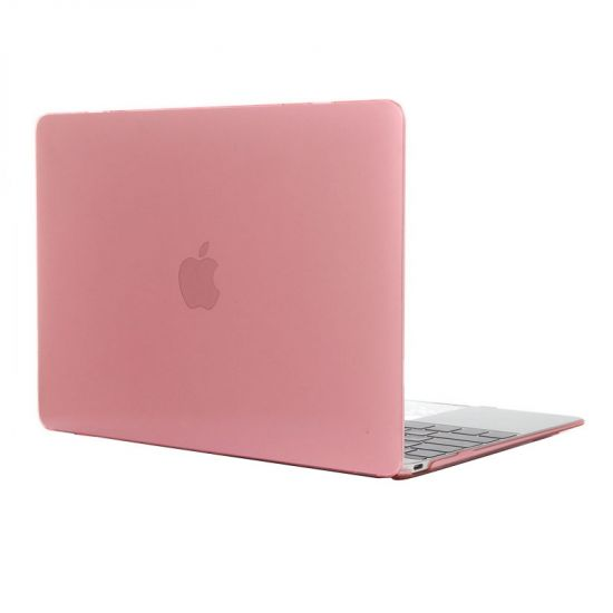 Mobigear Glossy Case voor de MacBook 12 inch - Roze