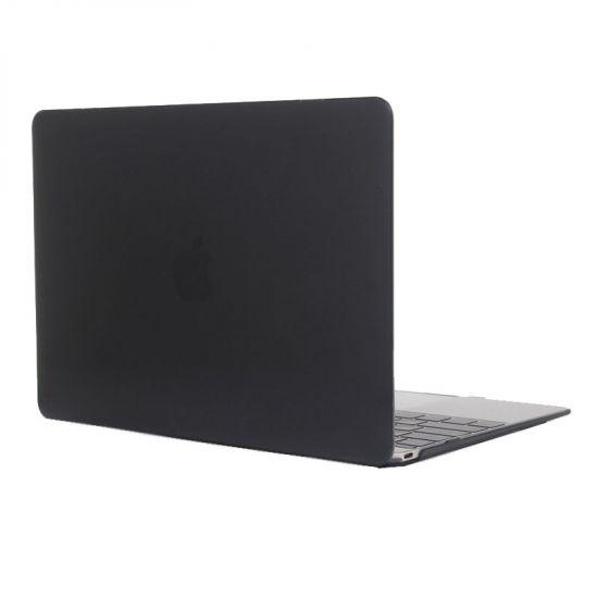Mobigear Glossy Case voor de MacBook 12 inch A1534 - Zwart