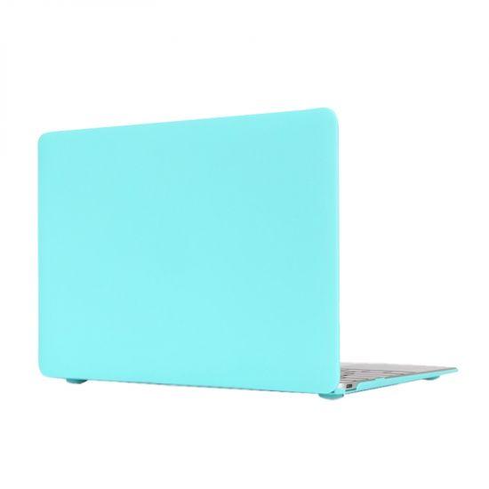Mobigear Matte Case voor de MacBook 12 inch A1534 - Turquoise