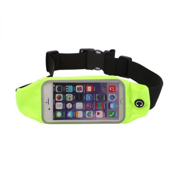 Mobigear Neopreen Sportarmband voor de iPhone 6(s) - Groen