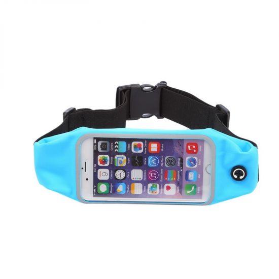 Mobigear Neopreen Sportarmband voor de iPhone 6(s) - Blauw