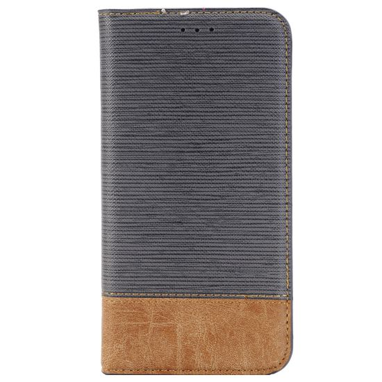 Mobigear Two Tone Bookcase voor de LG G5 - Paars