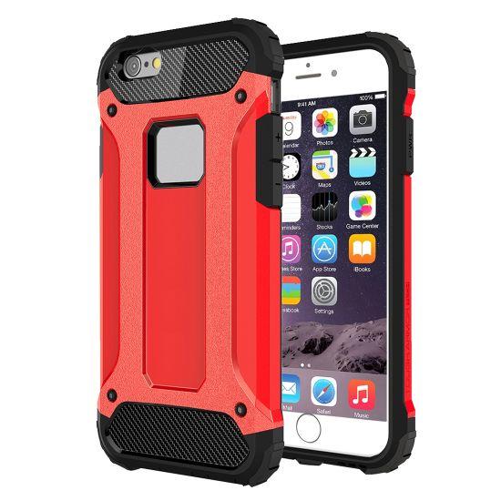 Mobigear Outdoor Hardcase voor de iPhone 6(s) Plus - Rood