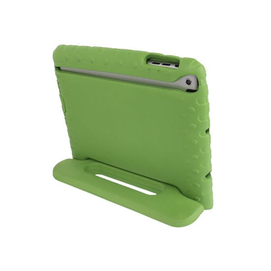 Mobigear Kinderhoes EVA Schuim Backcover voor de iPad Mini 3 (2014) / iPad Mini 2 (2013) / iPad Mini 1 (2012) - Groen