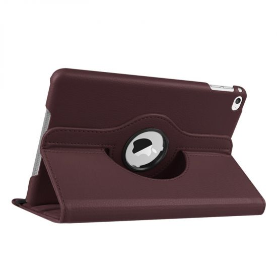 Mobigear 360 Rotating Bookcase voor de iPad Mini 4 (2015) - Bruin
