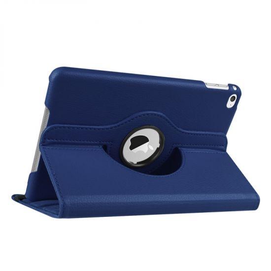 Mobigear 360 Rotating Bookcase voor de iPad Mini 4 (2015) - Donkerblauw