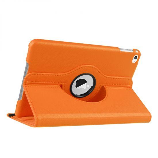 Mobigear 360 Rotating  Bookcase voor de iPad Mini 4 (2015) - Oranje