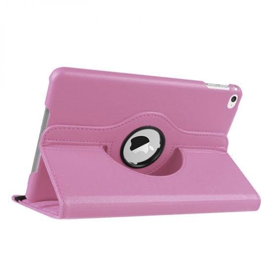 Mobigear 360 Rotating  Bookcase voor de iPad Mini 4 (2015) - Roze