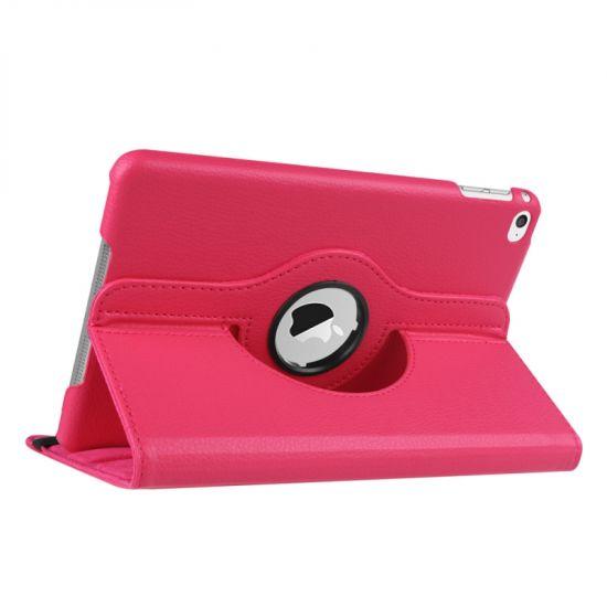 Mobigear 360 Rotating Bookcase voor de iPad Mini 4 (2015) - Magenta