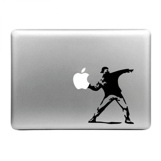 Mobigear Design Sticker voor de Apple MacBook Air / Pro (2008-2015) - Throw Apple