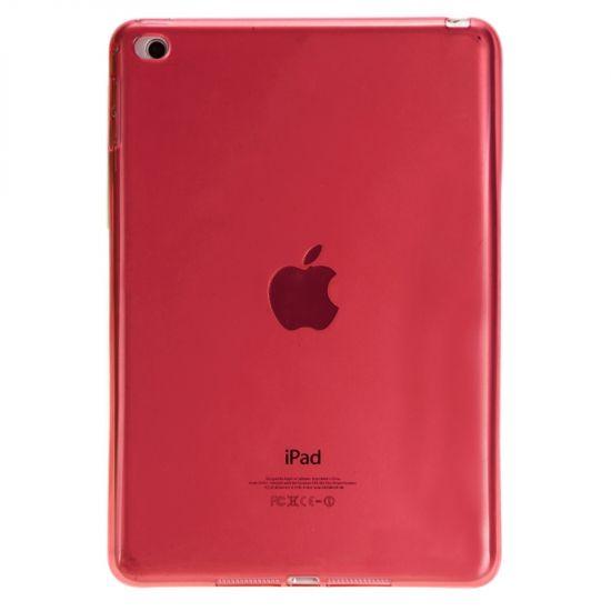 Mobigear TPU Backcover voor de iPad Mini 4 (2015) - Rood